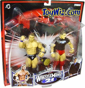 WWE Jakks Pacific Wrestlemania XXI 21 Exclusive Series 2 Action Figure 2-Pack Rob Conway & William Regal