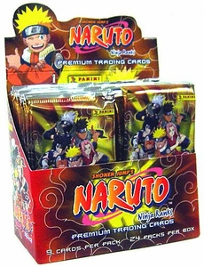 Naruto Inkworks Ninja Ranks Trading Card Box
