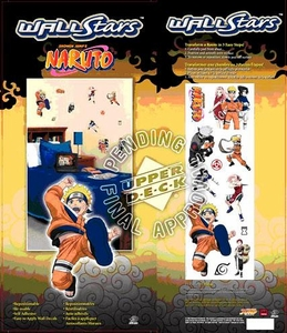 Naruto Naruto Wall Stars Pack of 11 Wall Decals