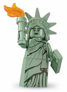 LEGO Minifigure Collection Series 6 LOOSE Mini Figure Lady Liberty