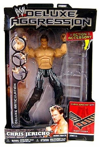 WWE Wrestling DELUXE Aggression Series 15 Action Figure Chris Jericho [Short Ladder]