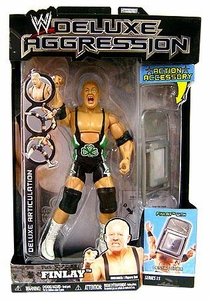 WWE Wrestling DELUXE Aggression Series 15 Action Figure Finlay with Denting Chair