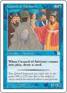 Magic the Gathering Portal Three Kingdoms Single Card Uncommon #40 Council of Advisors