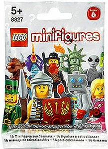 LEGO Minifigure Series 6 Mystery Pack [1 Random Mini Figure!]
