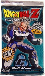 Dragonball Z Score Trading Card Game Cell Saga Booster Pack [10 Cards]