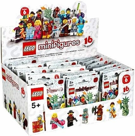 LEGO Minifigure Series 6 Mystery Box [60 Packs]