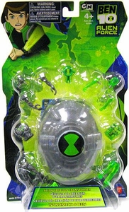Ben 10 Alien Creation SILVER Transporter [Nanomech & Ben]