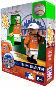 OYO Baseball MLB Generation 2 Building Brick Minifigure Tom Seaver [All-Star Game National League]