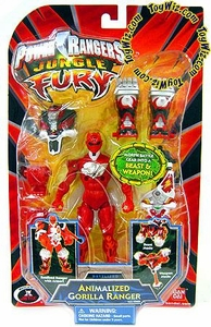 Power Rangers Jungle Fury Action Figure Animalized Gorilla Ranger