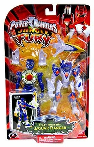 Power Rangers Jungle Fury Deluxe Animalized Beast Morphin Jaguar Ranger
