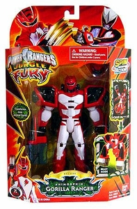 Power Rangers Jungle Fury Deluxe Action Figure Animorphin Gorilla Ranger