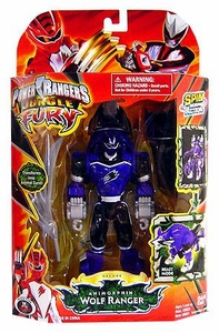Power Rangers Jungle Fury Deluxe Action Figure Animorphin Wolf Ranger