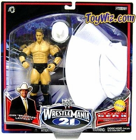 WWE Wrestlemania XXI 21 Exclusive Series 2 Signature Gear JBL with Cowboy Hat