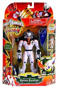 Power Rangers Jungle Fury Deluxe Action Figure Animorphin Rhino Ranger
