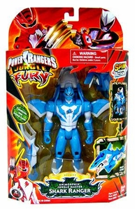 Power Rangers Jungle Fury Deluxe Action Figure AnimorphinJungle Master Shark Ranger