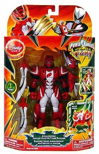 Power Rangers Jungle Fury Deluxe Exclusive Action Figure Animorphin Jungle Master Tiger Ranger