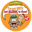 Allergy Awareness Stickers & Food Labels