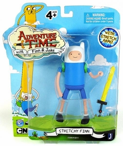 Adventure Time 5 Inch Action Figure Stretchy Finn