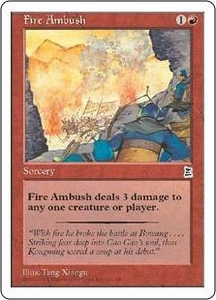 Magic the Gathering Portal Three Kingdoms Single Card Common #111 Fire Ambush