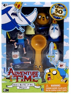 Adventure Time Micro PVC Figure Deluxe Battle of Ooo Playset