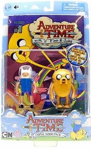 Adventure Time Comic Book & 3 Inch Figure 2-Pack Finn & Jake