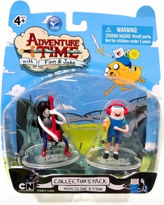Adventure Time 2 Inch Mini Figure 2-Pack Marceline & Finn