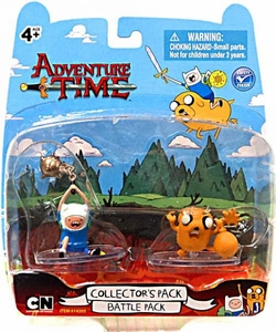 Adventure Time 2 Inch Mini Figure Battle 2-Pack Battle Pack [Finn & Jake]
