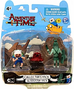 Adventure Time 2 Inch Mini Figure Battle 2-Pack Gladiator Pack [Ghost & Finn]