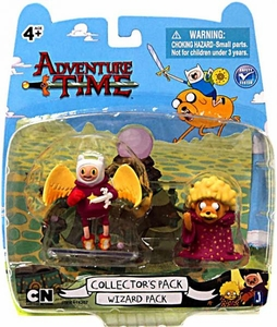 Adventure Time 2 Inch Mini Figure Battle 2-Pack Wizard Pack [Finn & Jake]
