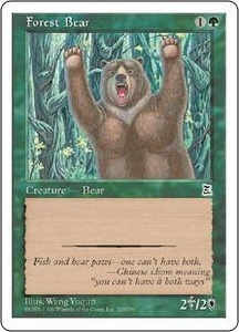 Magic the Gathering Portal Three Kingdoms Single Card Common #135 Forest Bear