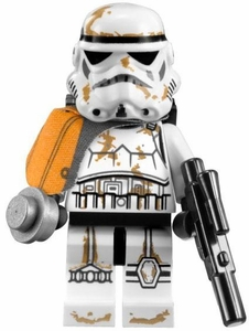 LEGO Star Wars LOOSE Mini Figure Sandtrooper Squad Leader [Dirty Armor]