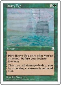 Magic the Gathering Portal Three Kingdoms Single Card Uncommon #136 Heavy Fog