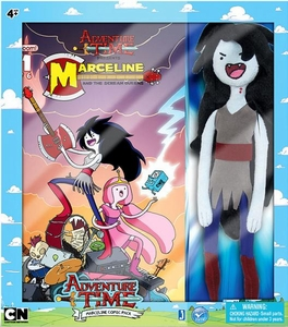 Adventure Time Plush Marceline with Comic Book