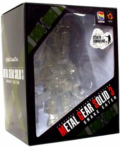 Metal Gear Solid 3 Medicom VCD Vinyl Collectible Doll Naked Snake [Big Boss] Stealth Camouflage Version
