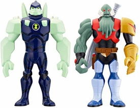 Ben 10 Alien Creation Chamber Mini Figure 2-Pack Diamondhead V.2 & Vilgax