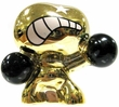 Crazy Bones Single Figures Gogo's Gold Tin Figures