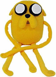 Adventure Time 10 Inch Plush Jake with Velcro Wrap Around Arms