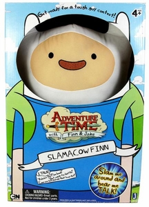 Adventure Time 20 Inch Deluxe Plush Slamacow Finn