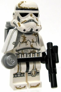LEGO Star Wars LOOSE Mini Figure Sandtrooper Sergeant [Dirty Armor]