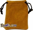 Dice Gaming Supplies Small Leather Dice Bag