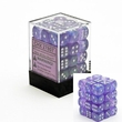 Dice Gaming Supplies 36 Count 12mm 6-Sided d6 Dice Pack Borealis [Purple/White 27807]