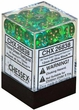 Dice Gaming Supplies 36 Count 12mm 6-Sided d6 Dice Pack Gemini [Green/Teal 26838]