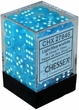 Dice Gaming Supplies 36 Count 12mm 6-Sided d6 Dice Pack Cirrus [Light Blue/White 27846]