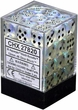 Dice Gaming Supplies 36 Count 12mm 6-Sided d6 Dice Pack Borealis [Aquerple/Black 27820]