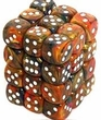 Dice Gaming Supplies 36 Count 12mm 6-Sided d6 Dice Pack Festive [Mardi Gras 27843]