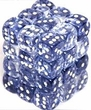 Dice Gaming Supplies 36 Count 12mm 6-Sided d6 Dice Pack Nebula [Black/White 27808]