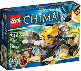 LEGO Legends of Chima Set #70002 Lennox's Lion Buggy