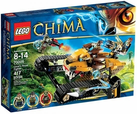 LEGO Legends of Chima Set #70005 Laval's Royal Fighter