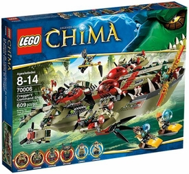 LEGO Legends of Chima Set #70006 Cragger's Command Ship