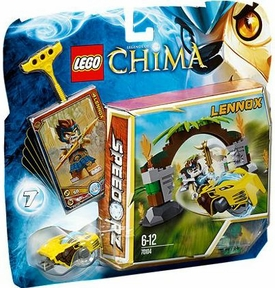 LEGO Legends of Chima Set #70104 Jungle Gates [Lennox]